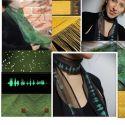 Bufandas con imágenes impresas