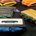 Diseños originales: monederos con viejos cassettes