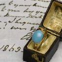 Una réplica del anillo de Jane Austen