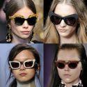 Gafas de sol 2013, colores y formas