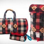 Mochila y bolso estilo leñador con el sello de Woolrich