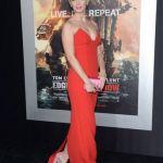 Looks para tener en cuenta: Emily Blunt y un vestido rojo furioso