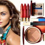Set de maquillaje Clarins verano 2014  inspirado en los colores de Brasil