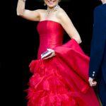 El increíble vestido de gala de Máxima de Holanda