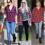 Camisas de tartán, el comodín de este otoño invierno 2014-2015