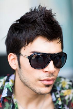 Cool Faux Hawk Hairstyle for Man