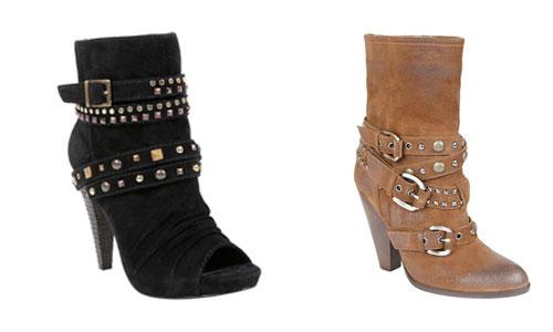 Multibroches en las botas, la moda este otoño