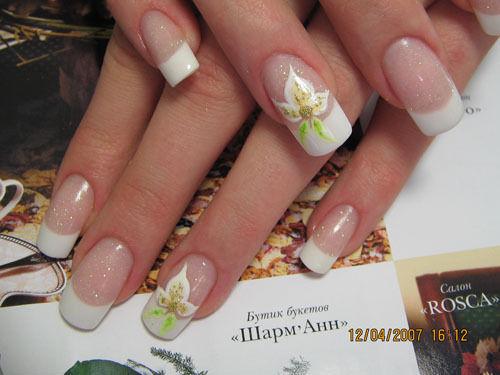 diseños de uñas para novia | Cristina