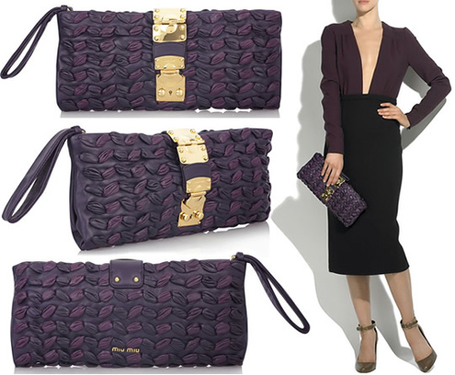 Miu-Miu-Plisse-Leather-Clutch