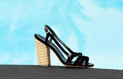 sandalia chanel