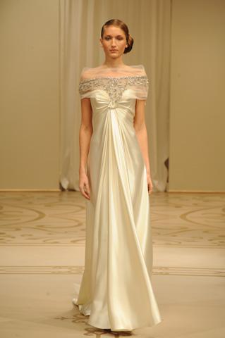 Reem Acra Bridal Spring 2010