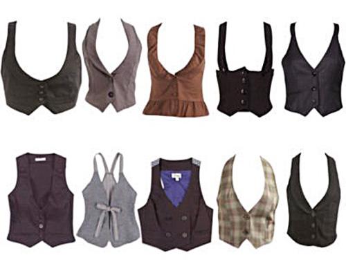 Chalecos de mujer vestir - Imagui