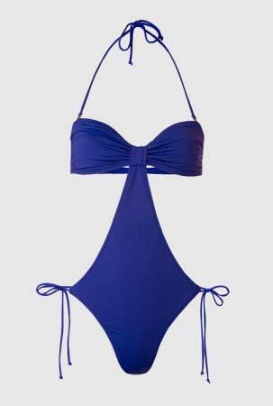 trikini mango azul