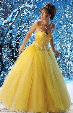 vestido amarillo 2