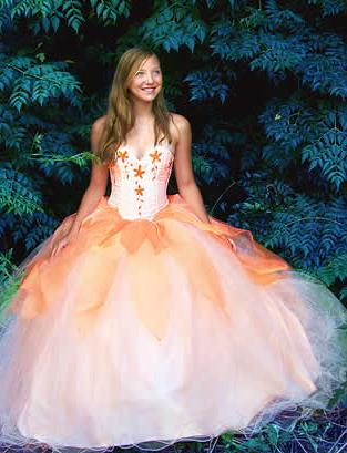 vestido durazno