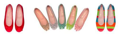 ballerinas de colores