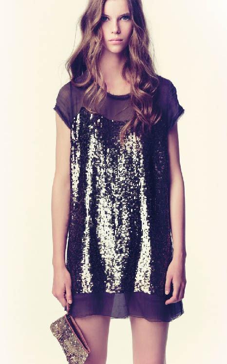 vestido de noche hoss