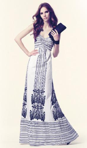 vestido largo hoss