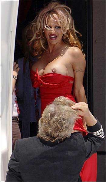 Foto de paparazzi Pamela Anderson