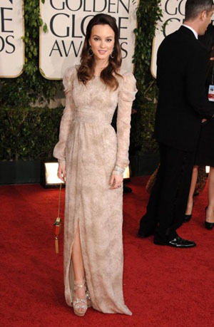 Mejores vestidas Golden Globe