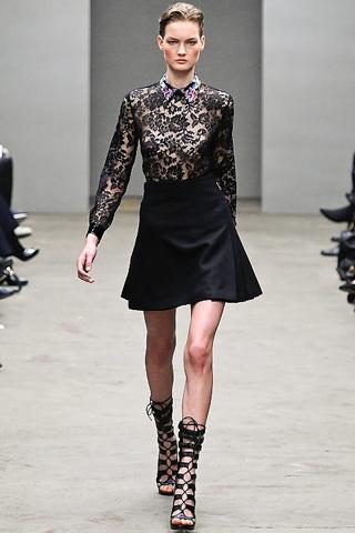 Modas con encaje 2011