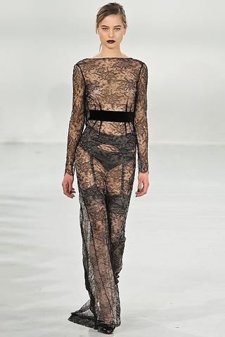 Moda de Encaje 2011