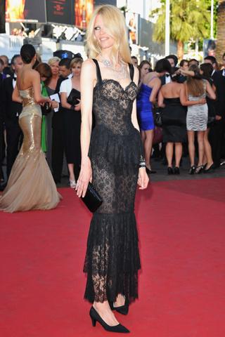 Claudia Schiffer en Cannes
