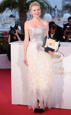 Kriste Dunst en Cannes