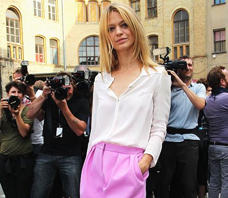 Camisa Blanca Moda 2011