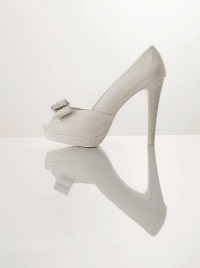 zapatos de boda rosa clara