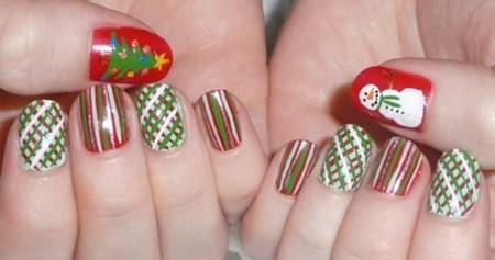 uñas-decoradas-navidad
