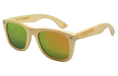 gafas de madera Grown