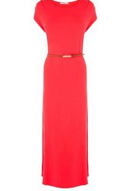 maxi vestido rojo