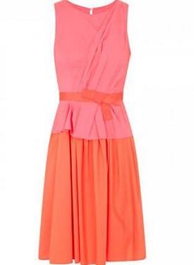 vestido-rojo-y-naranja