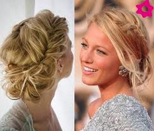 La moda de los peinados despeinados for Trenza boda